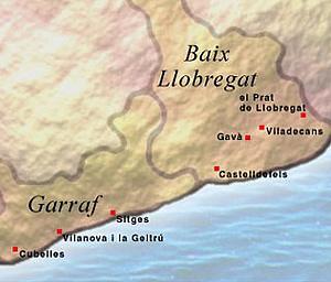 Коста дель Гарраф (Сosta del Garraf)