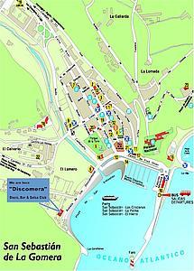 Карта Сан Себастьяна